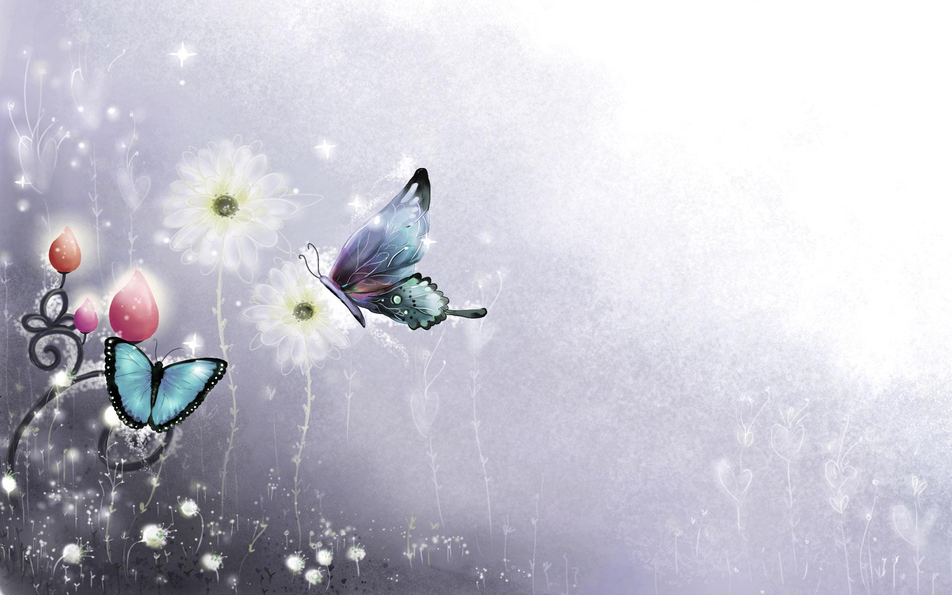 butterfly wallpaper 1964