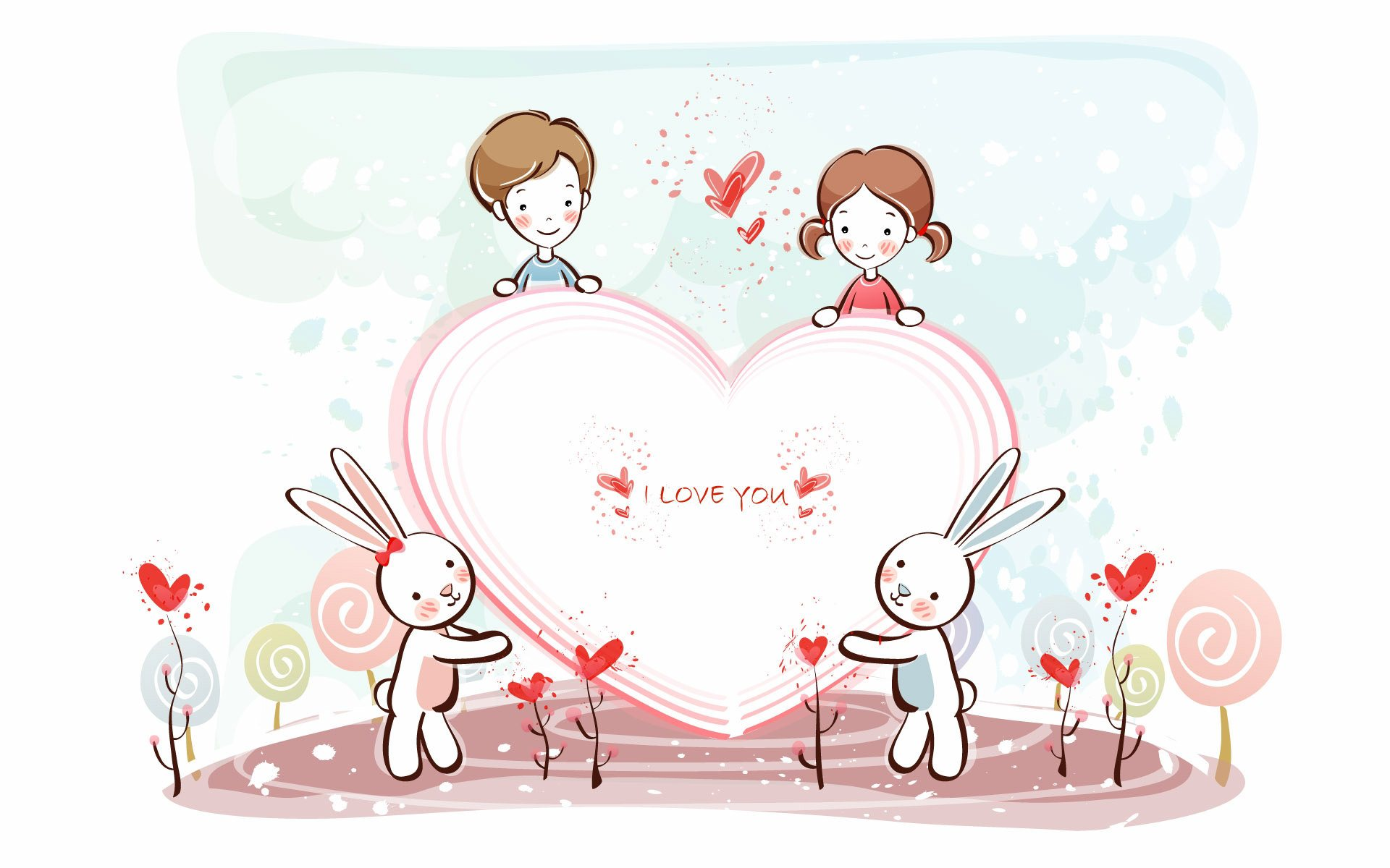 Cute Love Wallpaper 789