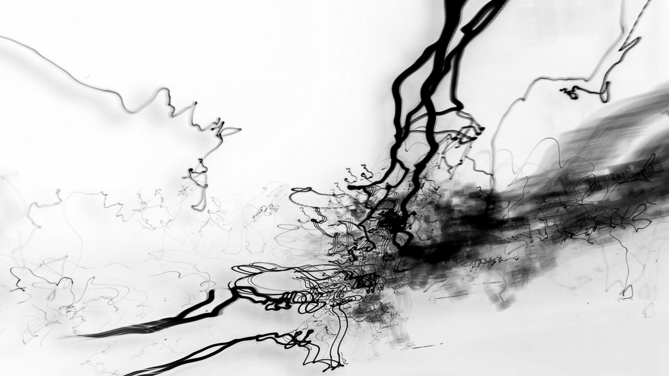 black and white wallpaper 2703