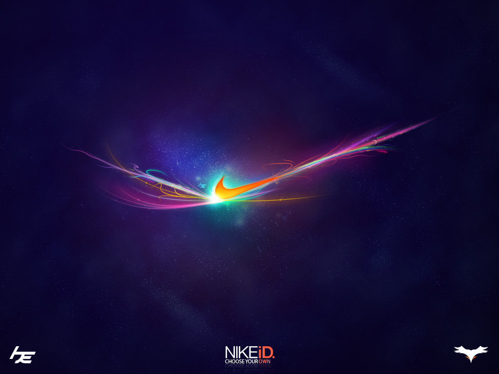 nike logo background 1032
