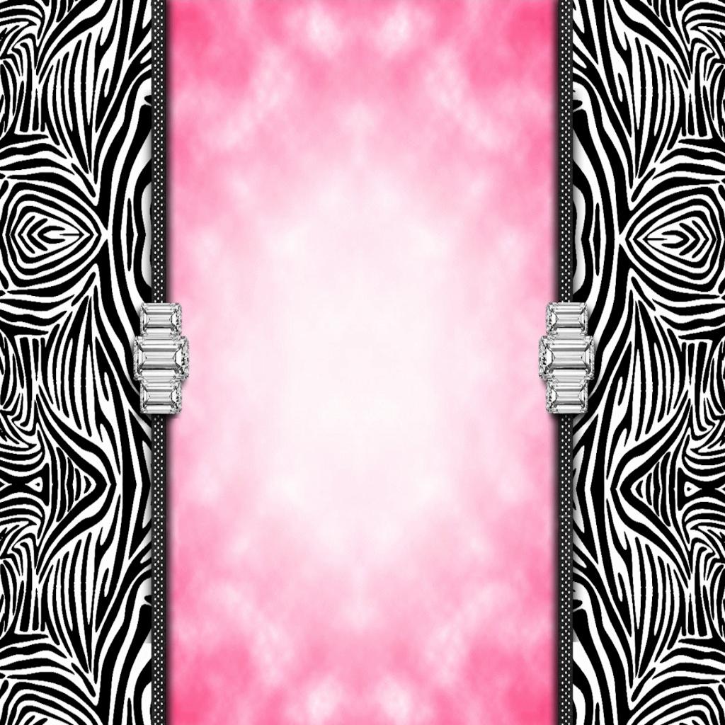 zebra print wallpaper 2742Pink Zebra Print Hd