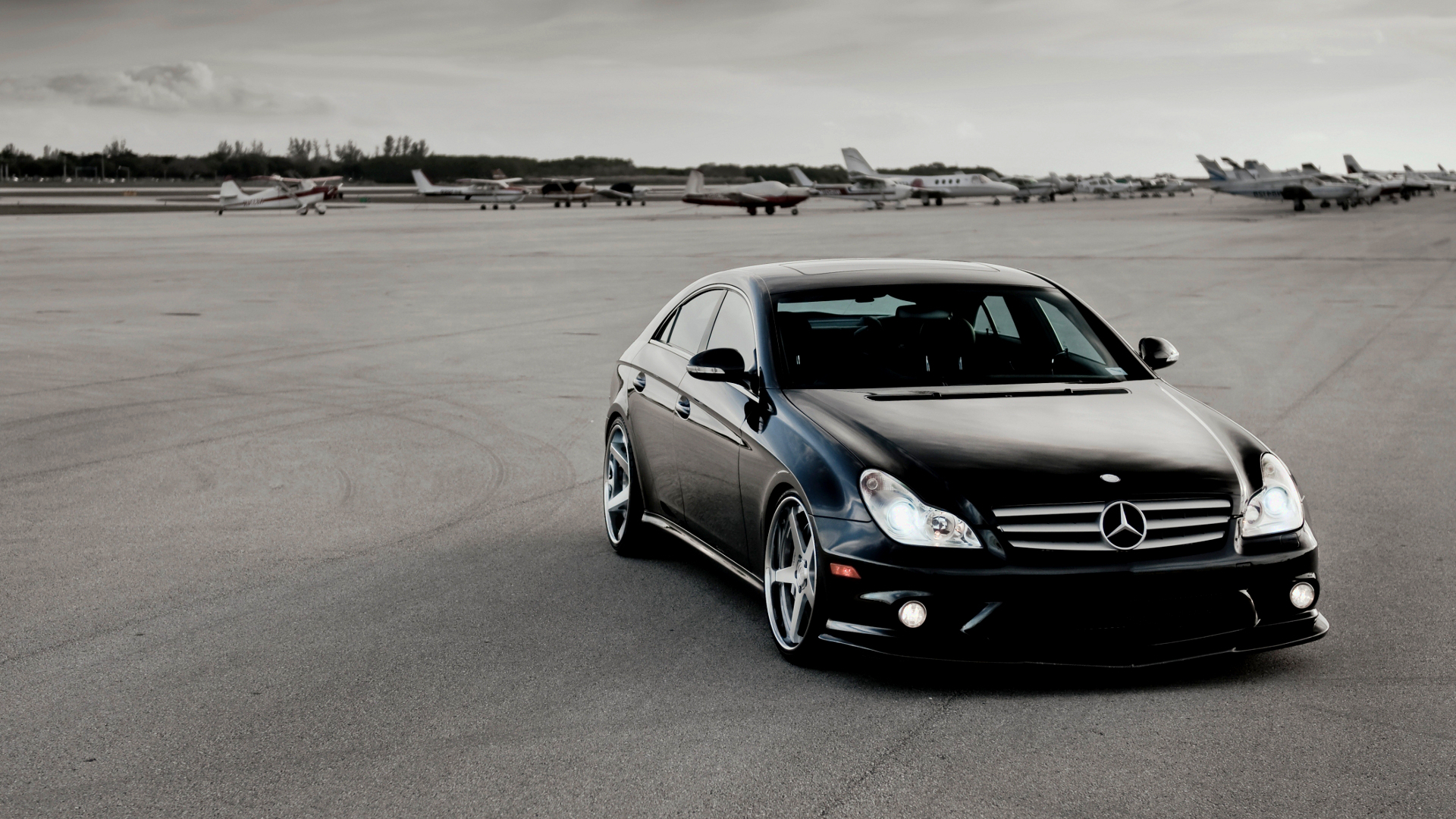 free mercedes cls63 wallpaper 36675