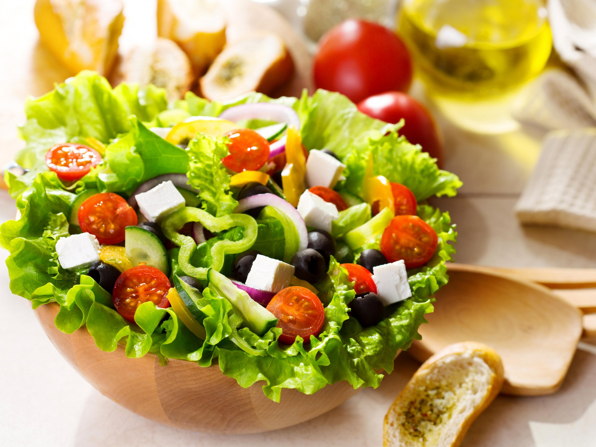 lovely salad wallpaper 42152