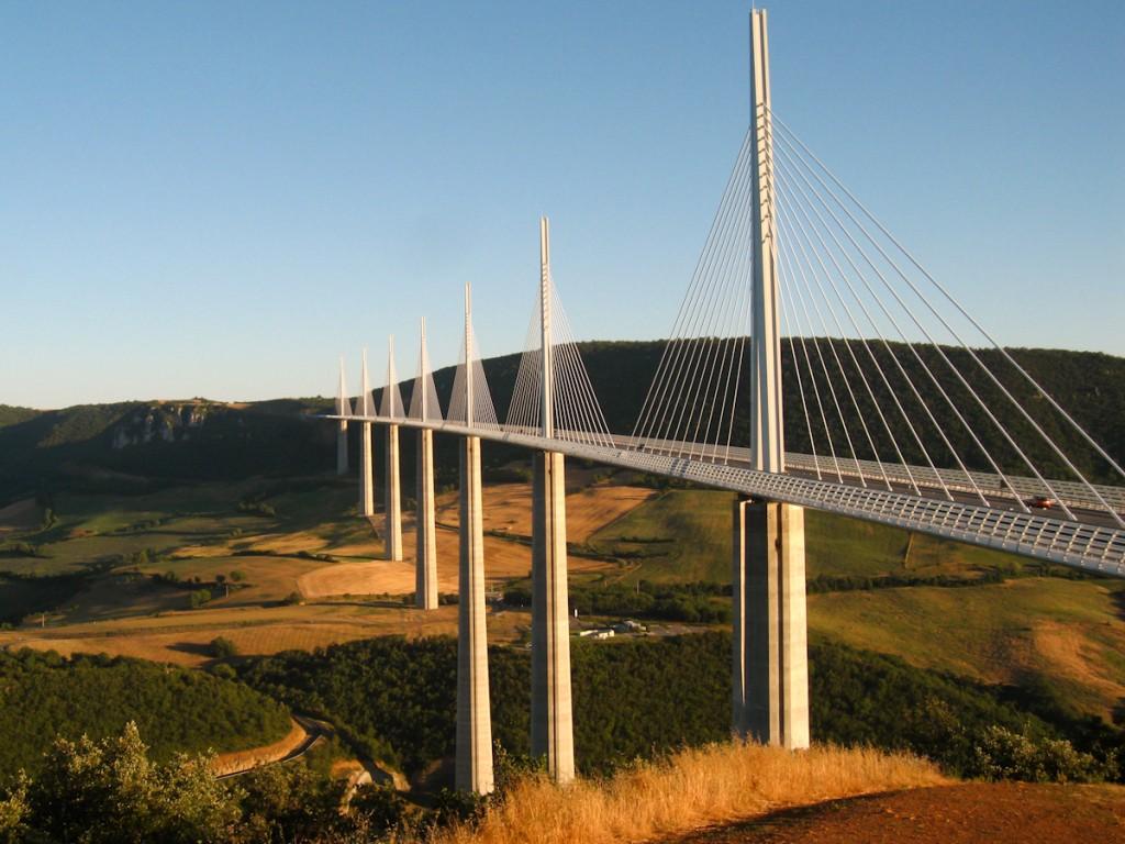Millau Viaduct 36562 1024x768 px ~ HDWallSource.com