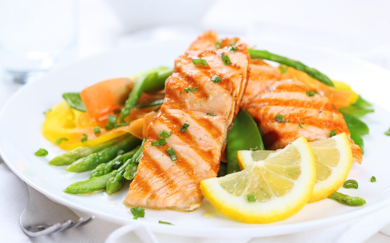 salmon salad wallpaper 42140