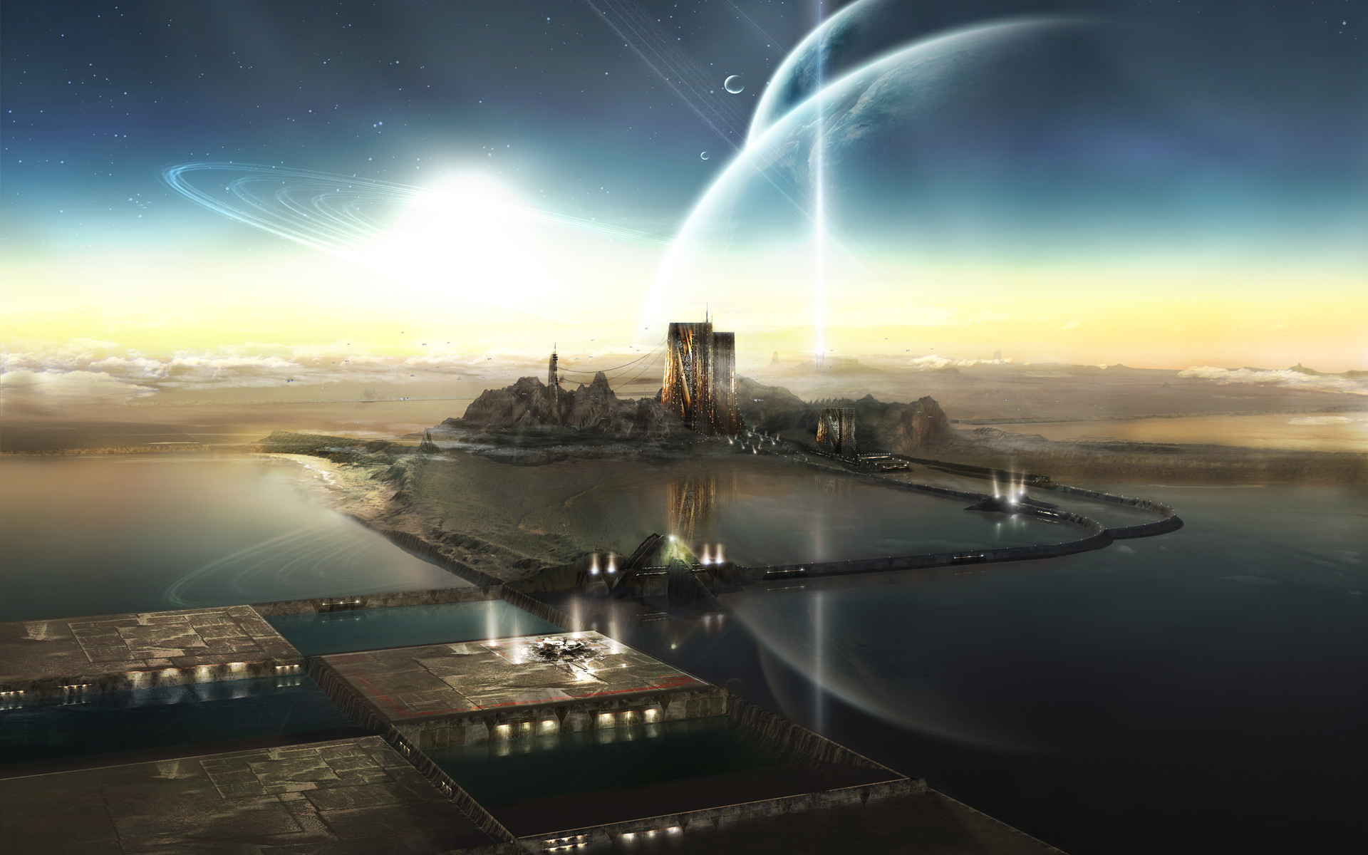 Sci Fi Wallpaper 9329 px HDWallSource