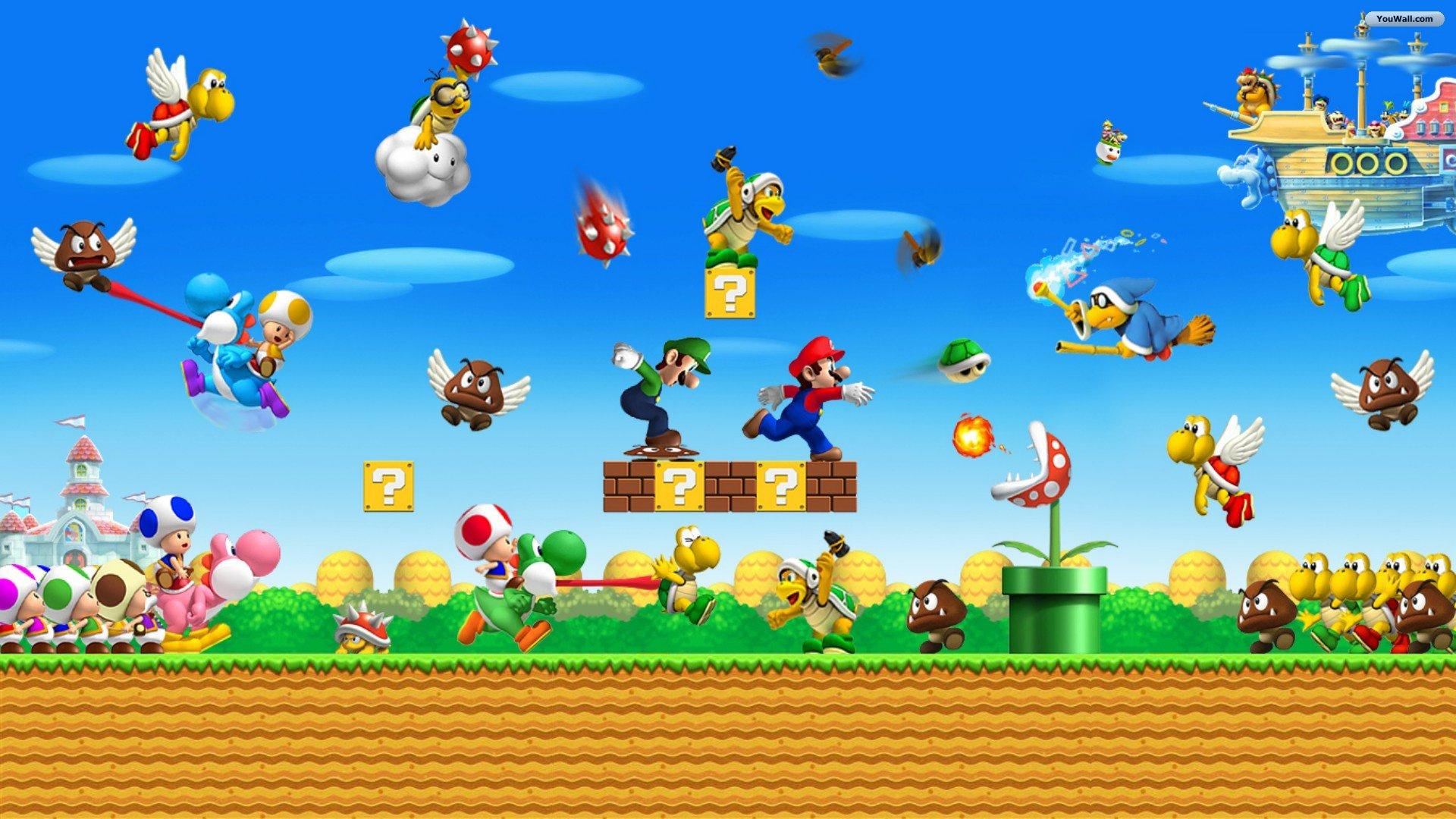 Super Mario Wallpaper 5091 1920x1080 px HDWallSourcecom
