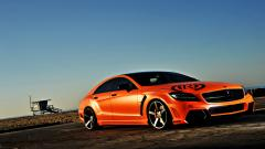 Cool Mercedes CLS63 Wallpaper 36679