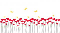 Free Heart Background 17778