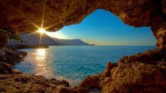Gorgeous Cave Wallpaper 36705