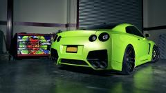 Green GTR Wallpaper 35807