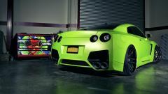 Green GTR Wallpaper 35807