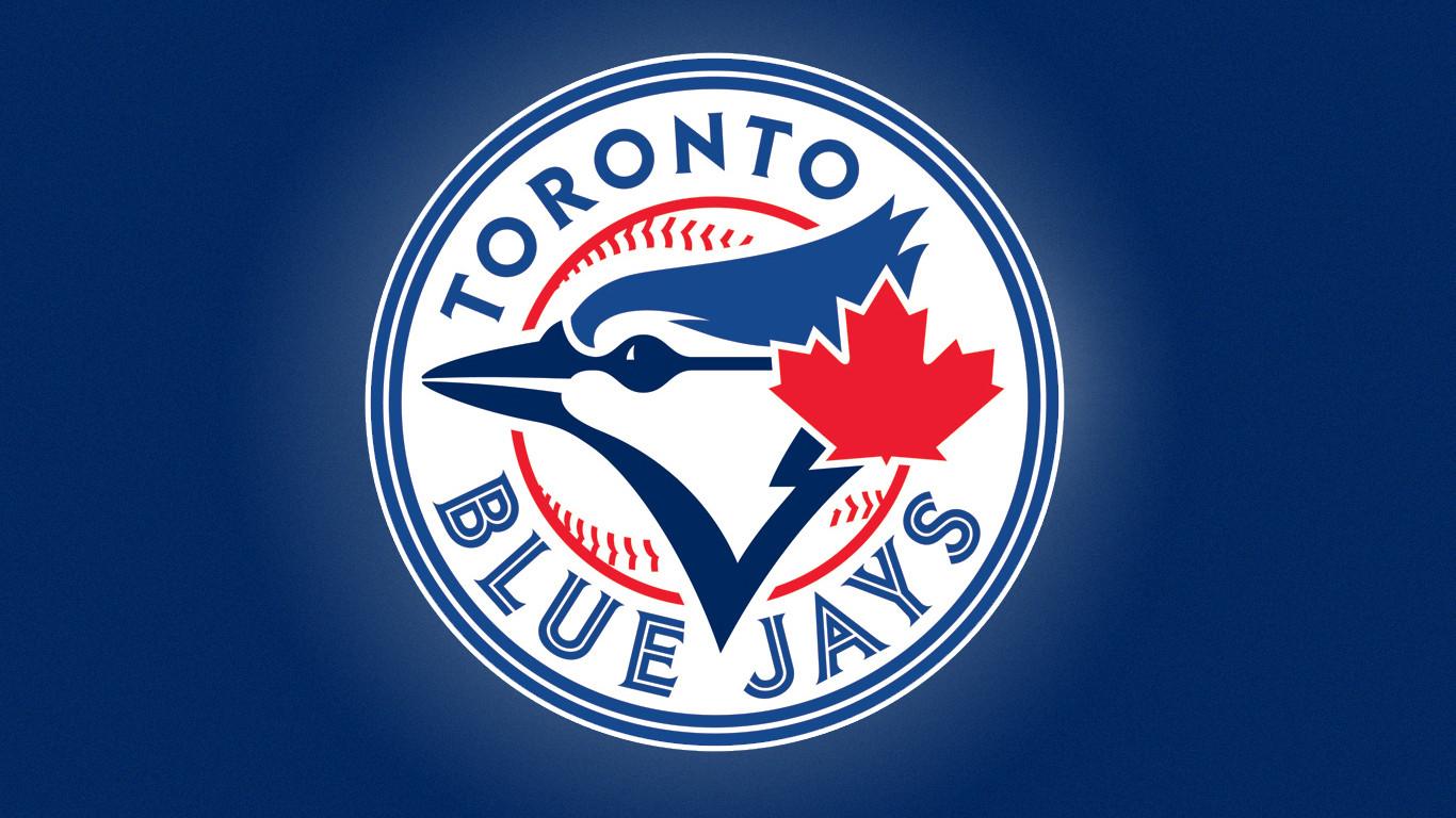 blue jays logo wallpaper