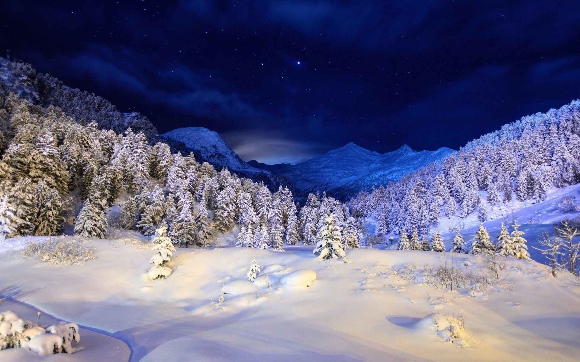 winter free wallpaper background