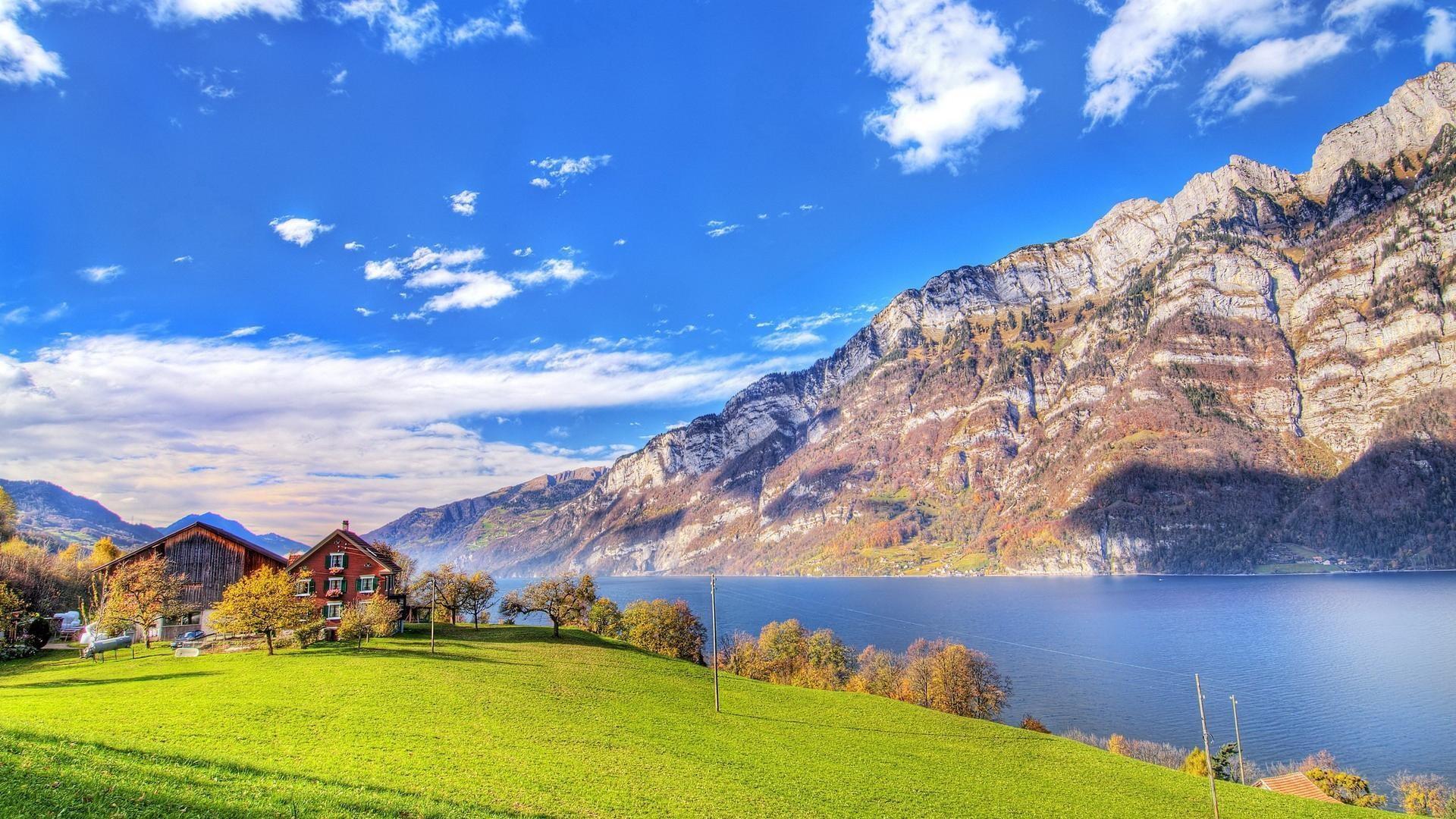 beautiful lake wallpaper 37216