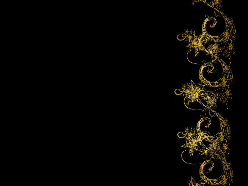3d backgrounds black and gold pictures to pin on pinterest for Gold 3d wallpaper