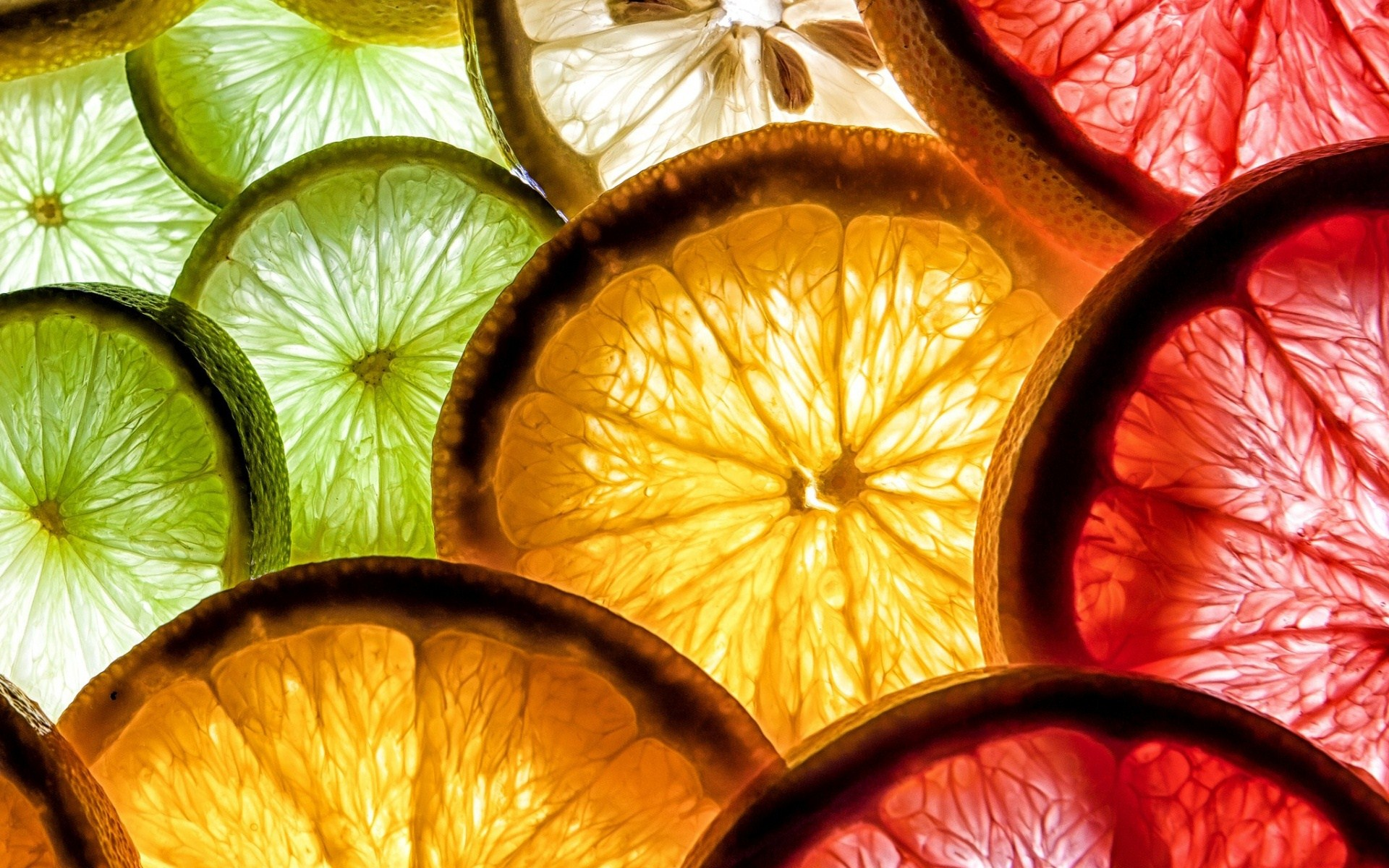 colorful slices wallpaper 43198