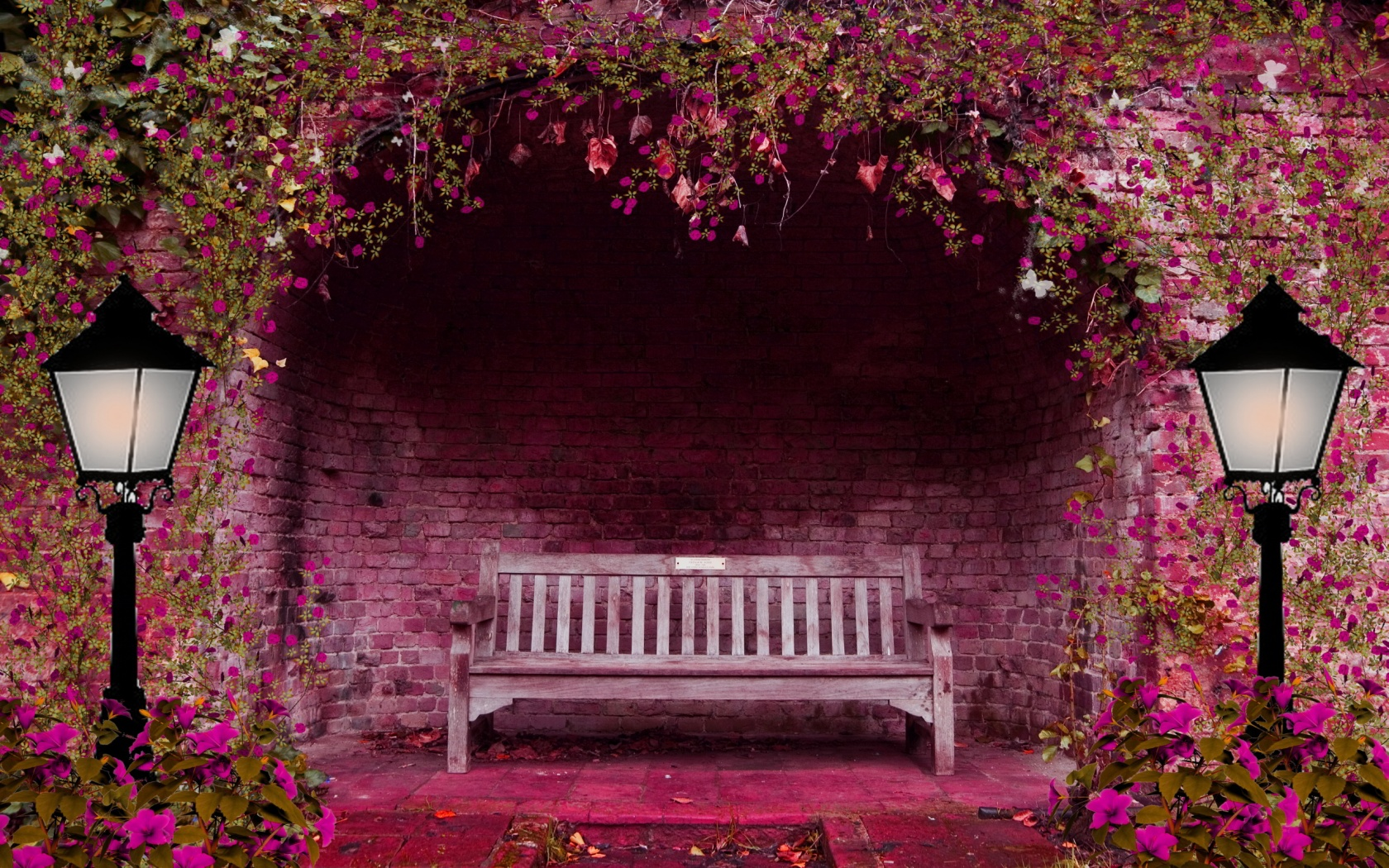 Hd wallpaper park - Empty Benches Hd Wallpapers