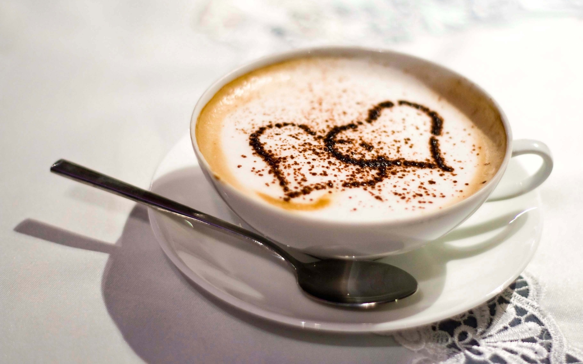 cute cappuccino wallpaper 38666