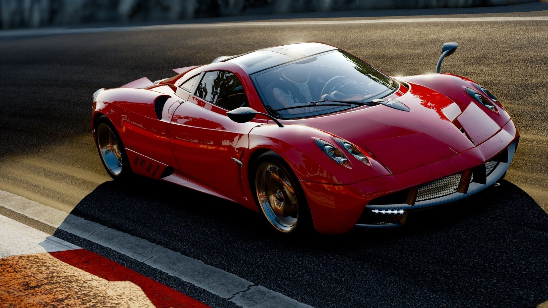 Fantastic Red Pagani Huayra Wallpaper 44716 1920x1080 px ...