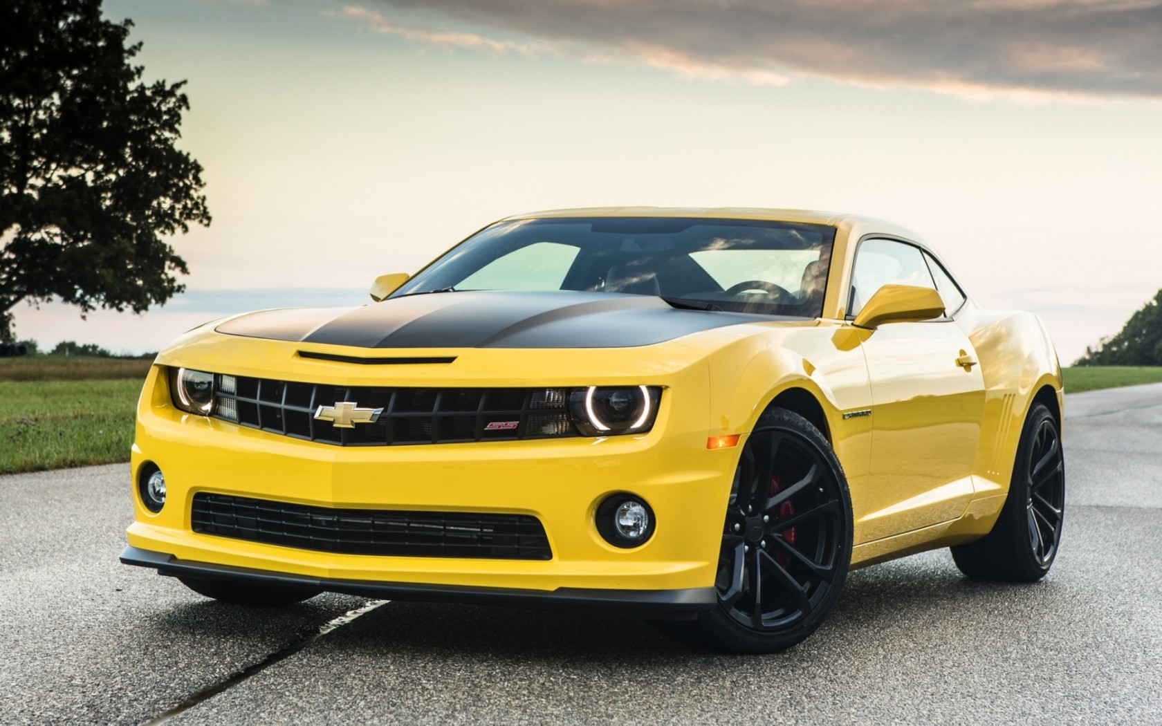 fantastic yellow camaro wallpaper 43208