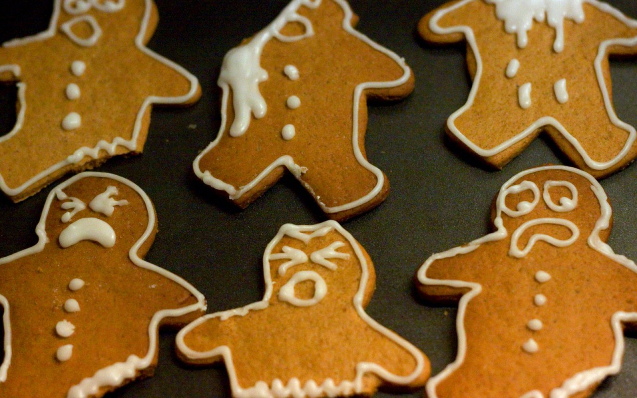 gingerbread man wallpaper 33899