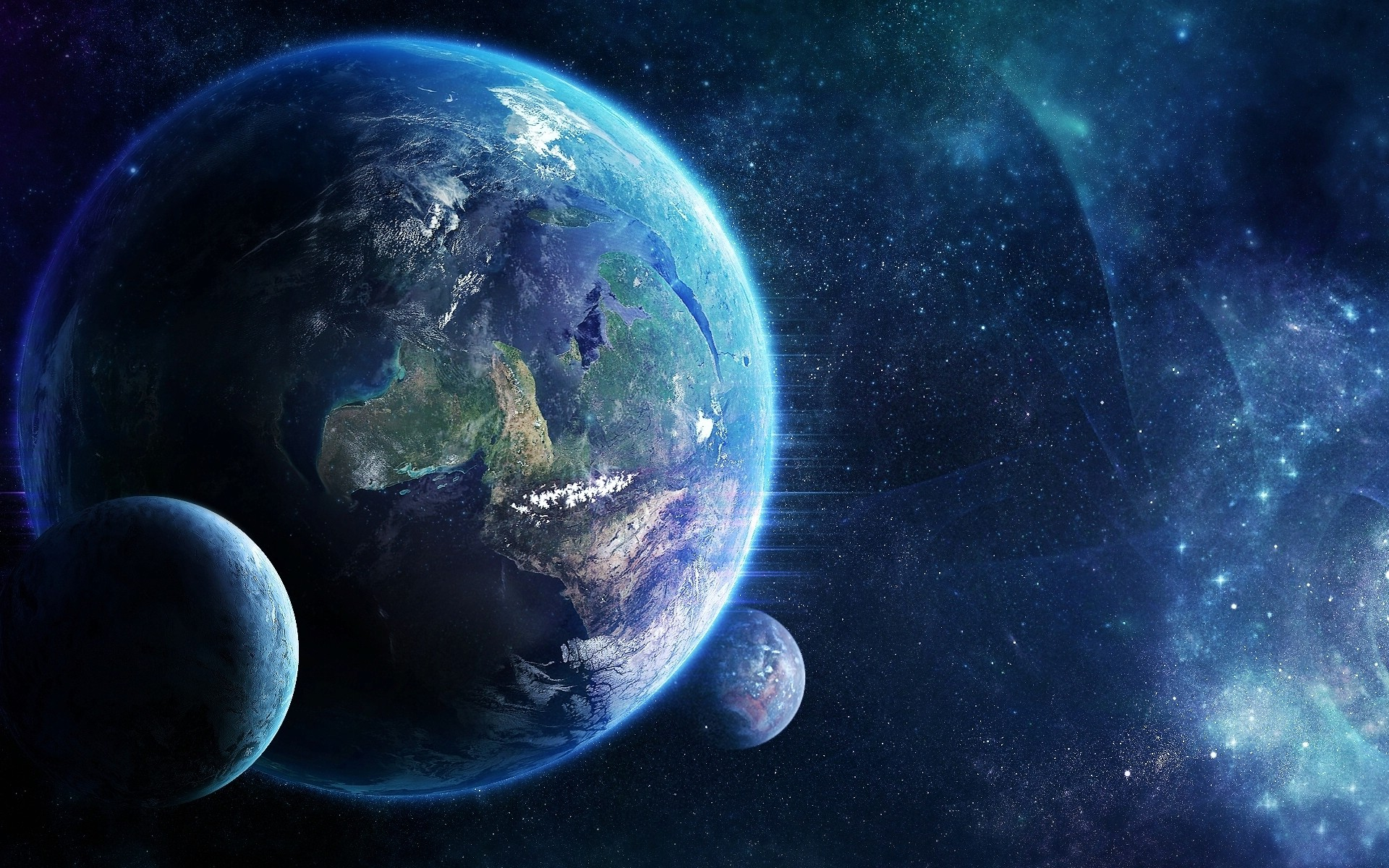 cool hd wallpapers nine planets - photo #36