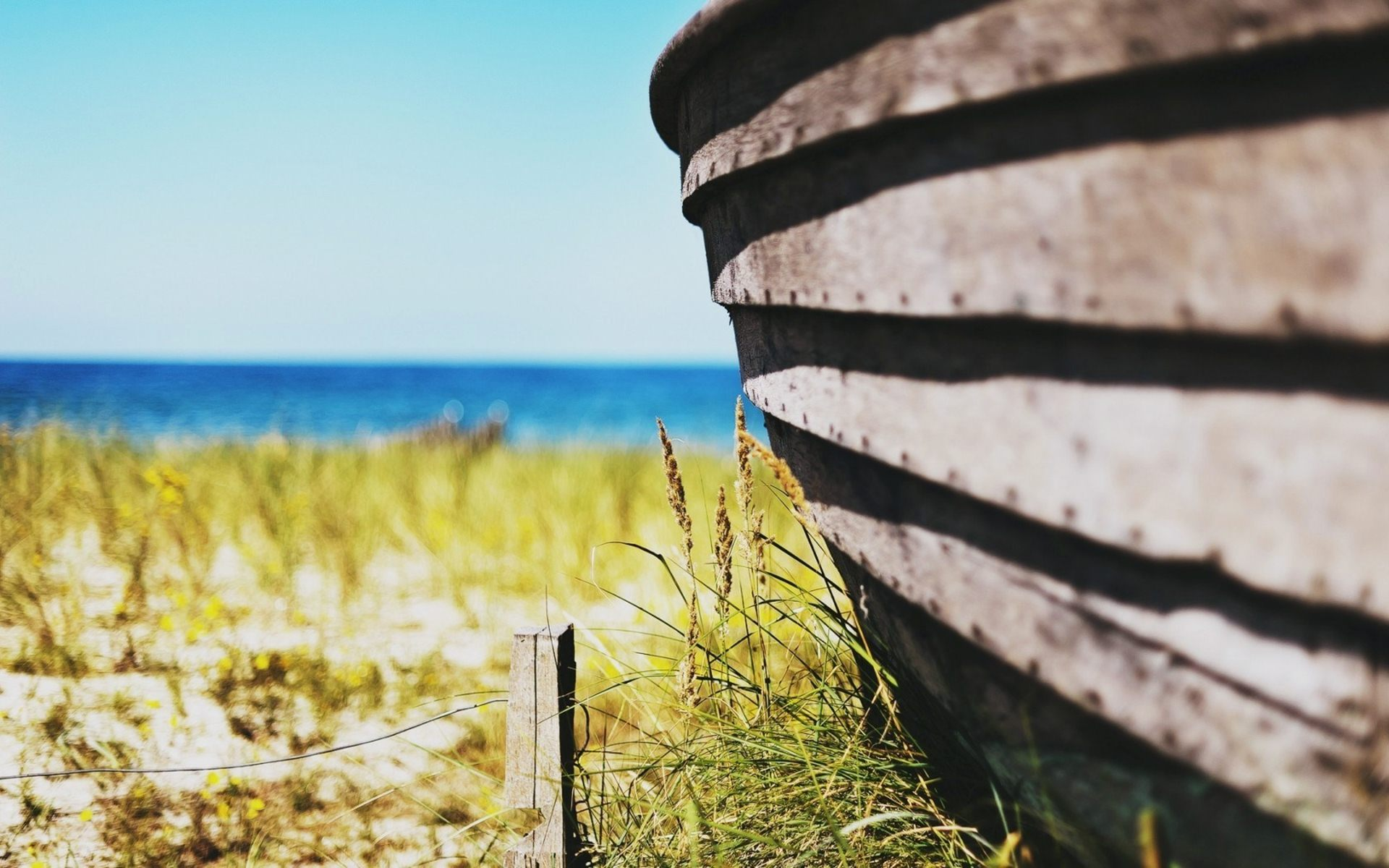 nature fence wallpaper 44974