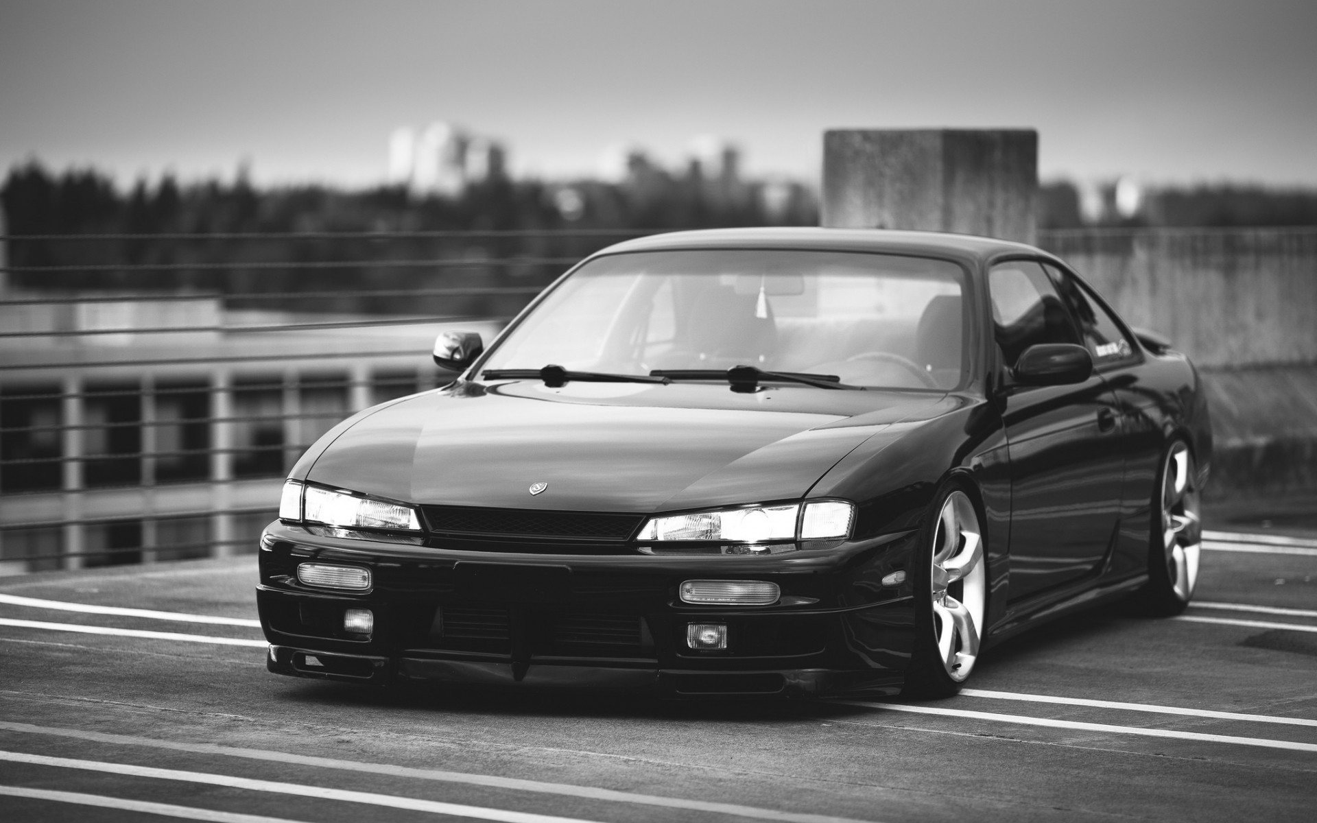 Photo Collection All Black Nissan 240Sx Wallpaper