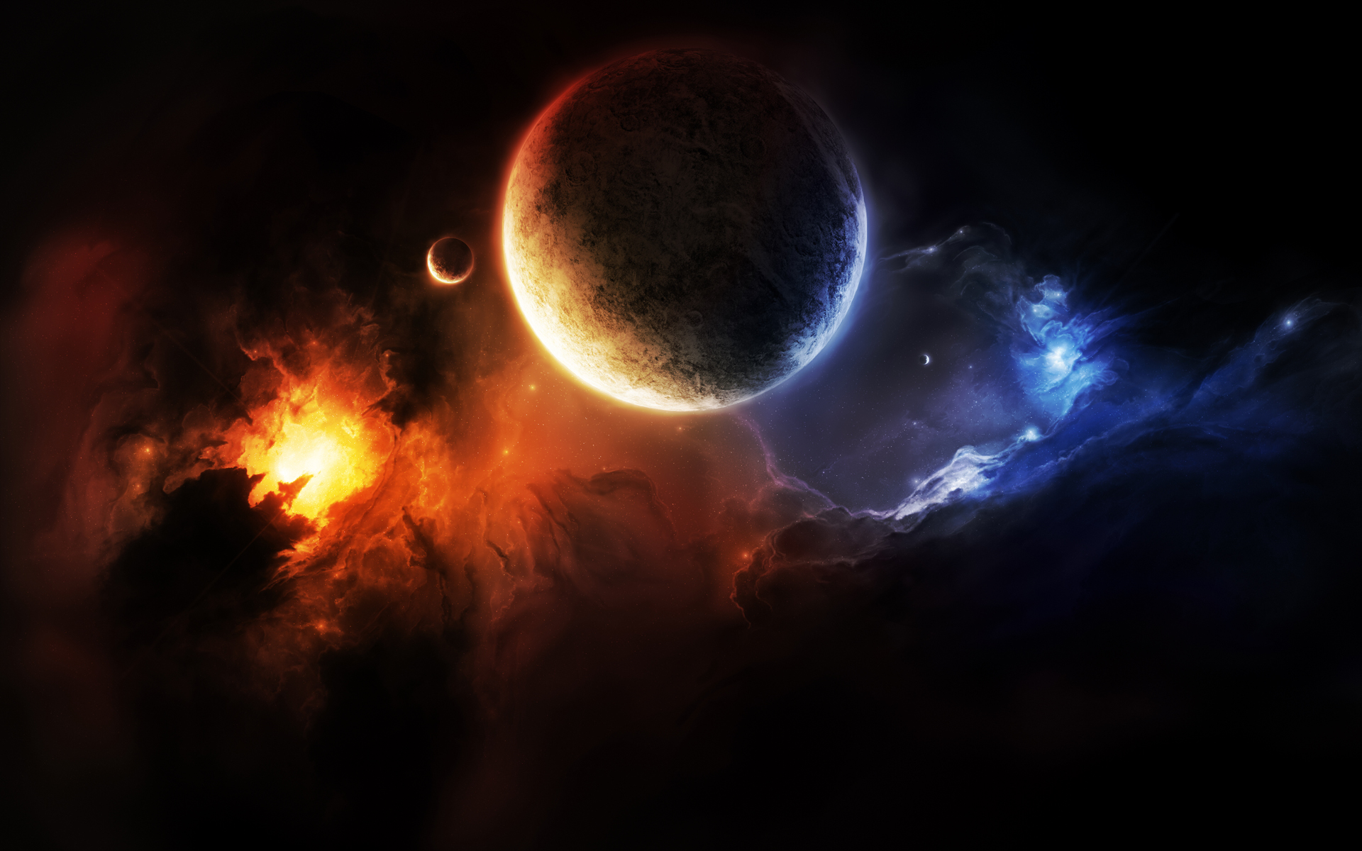 cool hd wallpapers nine planets - photo #25