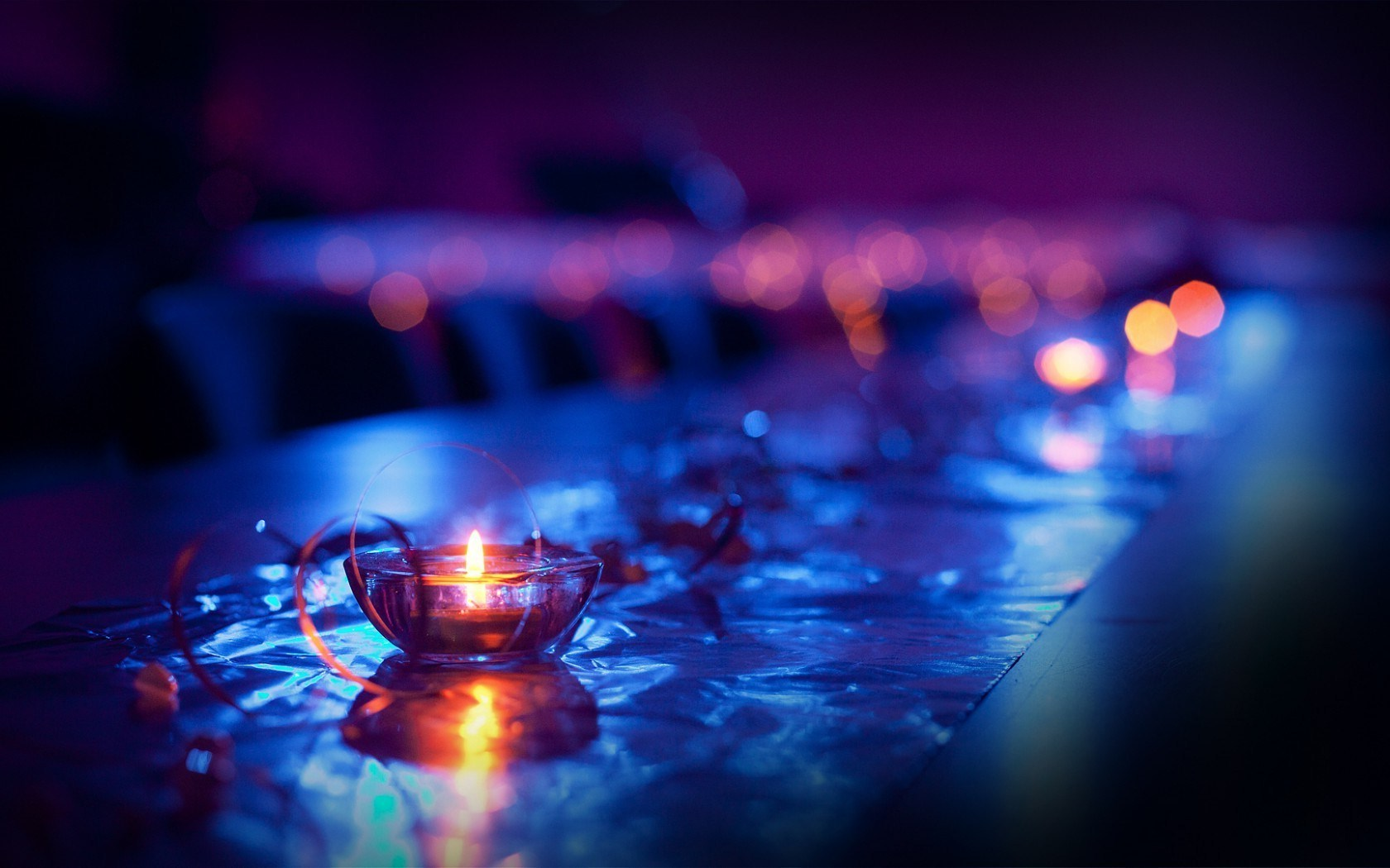 Pretty Candles Close Up Wallpaper 44447 1680x1050px