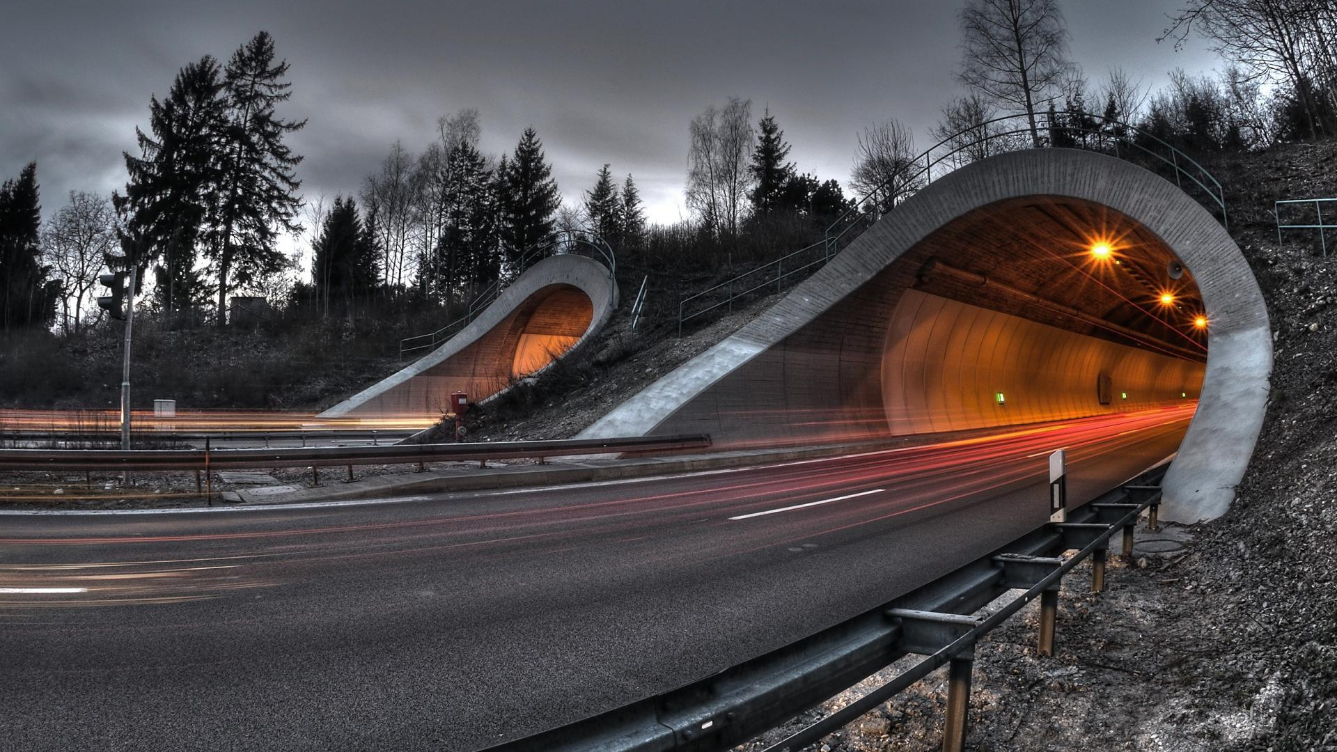 road tunnel wallpaper 38511