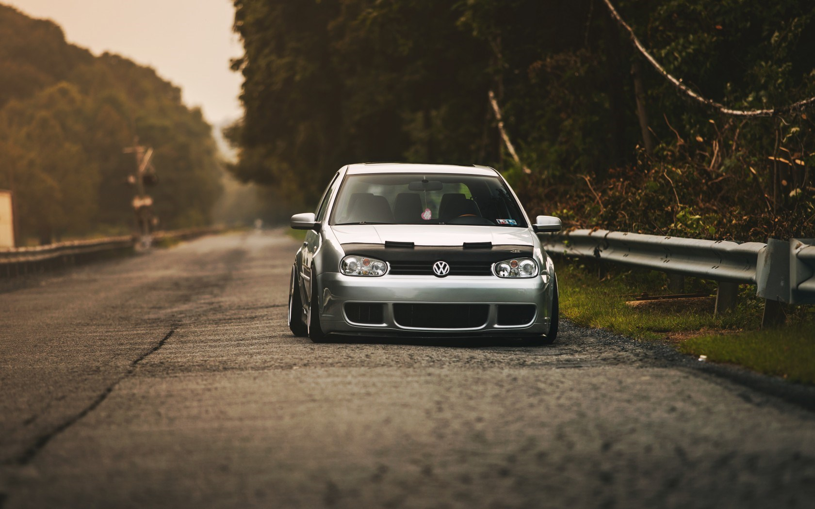 Silver Volkswagen Golf Wallpaper 43728 1680x1050 px ...