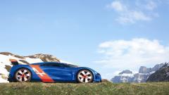 Beautiful Renault Alpine Concept Wallpaper 44292