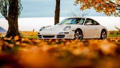 Beautiful White Porsche Wallpaper 38904