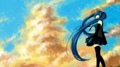 Blue Hair Wallpaper 34900