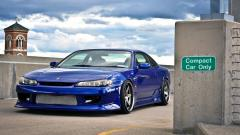 Blue Nissan Silvia Wallpaper 42628