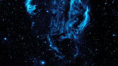 Blue Space Wallpaper 32324
