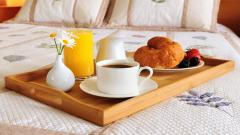 Breakfast in Bed Wallpaper 43755