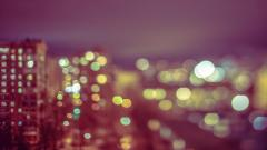 City Buildings Bokeh Wallpaper 43929