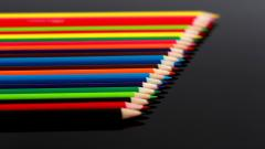 Colored Pencils Wallpaper HD 40926