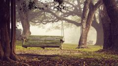 Cute Bench Wallpaper 31636