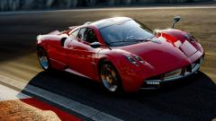 Fantastic Red Pagani Huayra Wallpaper 44716
