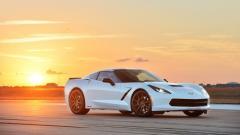 Fantastic White Corvette Wallpaper 38320