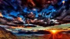 Free Dark Clouds Wallpaper 33641