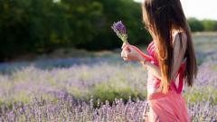 Gorgeous Girl Mood Nature Wallpaper 43952