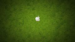 Grass Apple Logo Background 18852