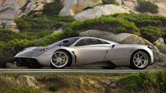 Grey Pagani Huayra Wallpaper 44715