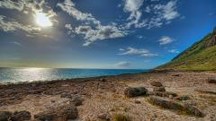 HDR Beach Wallpaper 38425
