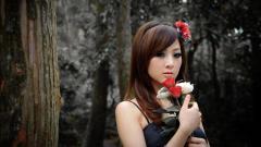 Lovely Asian Model Wallpaper 43743
